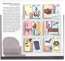 ITALIA 2000 DESIGN ITALIANO FOGLIETTO NUOVO - Blocs-feuillets