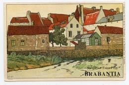 Lynen, Amédée-Ernest,publicité,margarine Extra-fine Brabantia Collection De-ci De-là à Bruxelles (N°67) Village - Autres Illustrateurs