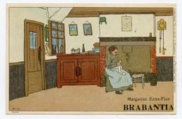 Lynen, Amédée-Ernest,publicité,margarine Extra-fine Brabantia Collection De-ci De-là à Bruxelles (N°93 ) Couturière - Autres Illustrateurs