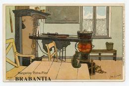 Lynen, Amédée-Ernest,publicité,margarine Extra-fine Brabantia Collection De-ci De-là à Bruxelles (N°93 ) Ancien Pöele - Autres Illustrateurs