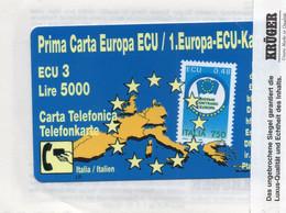 ITALY - URMET PATENT - PRIMA CARTA ECU - OMAGGIO - MINT IN KRUGER ENVELOPE - Private-Omaggi