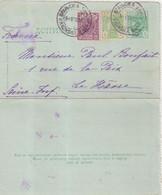 "SERBIE : ENTIER POSTAL . AVEC COMPlt . "" VRAGNSKA BAGNA "" POUR LA FRANCE . 1902 . - Serbia"