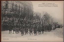 75 - PARIS - Fêtes Du Cinquantenaire De La République - Les Poilus - Andere