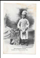 BELLEGARDE (Creuse) - Cuisinier De L'Hôtel Du Lion D'Or - Bellegarde