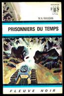 """""""PRISONNIERS DU TEMPS"""" De M.A. RAYJEAN - Ed. FN Anticipation N° 414 - 1970. - Fleuve Noir"""