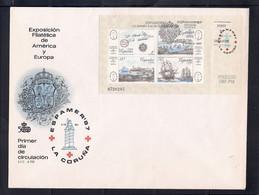 ESPAÑA 1987 - SPD-FDC - ESPAMER 87 EN LA CORUÑA - EDIFIL Nº 2916 - FDC