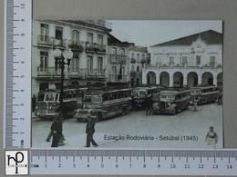 PORTUGAL - ESTAÇÃO RODOVIARIA -  SETUBAL -   2 SCANS  - (Nº44979) - Setúbal