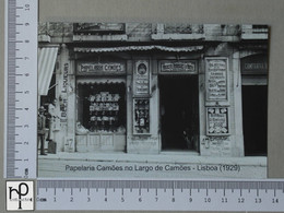 PORTUGAL - PAPELARIA CAMÕES -  LISBOA -   2 SCANS  - (Nº44995) - Lisboa