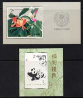 CHINE - CHINA / 1985-1986 - 2 BLOCS ** MNH (ref 8571) - Blocks & Kleinbögen