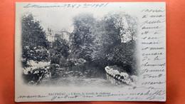 CPA.(49)  Beaupréau. L'Evre, Le Lavoir , Le Château. Lavandières.  (S.613) - Autres Communes