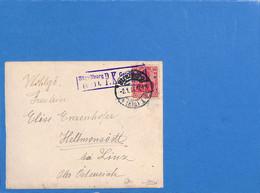 Allemagne Reich 1916 Lettre De Straßburg (G3288) - Lettres & Documents