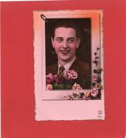 JEUNE HOMME AMOUREUX---fleurs---voir 2 Scans - Men