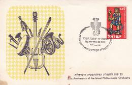 25th ANNIVERSARY THE ISRAEL PHILHARMONIC ORCHESTRA, L'ORCHESTRE PHILHARMONIQUE D'ISRAEL. SPC 26.12.1961 TEL AVIV.- LILHU - Music