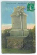 1905 à 1911 - CONDE Sur ITON -27 - Château XVI° 3 Vues Différentes + 1 Monument Aux Morts - 3 Timbrées Dont 2 Verticales - Other Municipalities