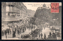 38-Grenobles, Les Grèves, Funérailles - Grenoble