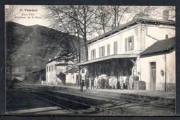 48-Villefort, Cure D'air, Intérieur De La Gare - Villefort