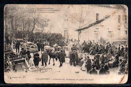 48-Villefort, Avenue Du Bosquet Un Jour De Foire - Villefort