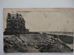CPA 62 CAMIERS - Plage Saint-Gabriel - Le Grand Hôtel Et La Digue Après La Tempête - 1906 - Other Municipalities