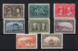 Canadá Nº 85/92. Año 1908 - Unused Stamps