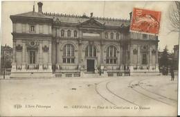 CPA De GRENOBLE - Place De La Constitution - Le Museum. - Grenoble
