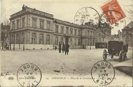 CPA De GRENOBLE - Place De La Constitution - Ecole D'Artillerie. - Grenoble