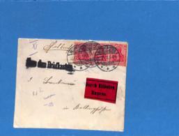 Allemagne Reich 1913 Lettre Durch Eilboten De Neumünster (G3326) - Lettres & Documents
