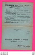 CPA  (Réf: Z 2624) MÉZIN (47 LOT & GARONNE) Orchestre Des City-boys - Altri Comuni