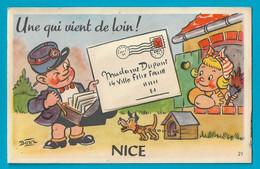 Nice Carte à Système Dépliant 10 Vues Illustrateur Bozz - Mechanical