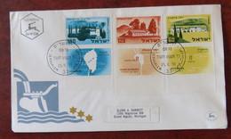 Fdc Env. Israel 1959 Vers Grand Rapids Michigan USA - - FDC