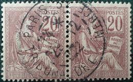 R1311/743 - 1900/1901 - TYPE MOUCHON - N°113 ☉ CàD De PARIS TRIBUNAL DE COMMERCE - 1900-02 Mouchon