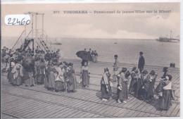 YOKOHAMA- PENSIONNAT DE JEUNES FILLES SUR LE WHARF-  MESSAGERIES MARITIMES 277 - Yokohama