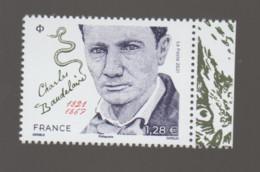 FRANCE / 2021 / Y&T N° 5482 ** : Charles Baudelaire X 1 BdF D - Unused Stamps