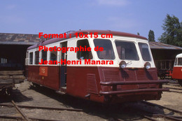 ReproductionPhotographie Ancienne D'un Train Du Chemin De Fer Touristique De La Sarthe à Connerré-Bonnétable En 1986 - Reproductions