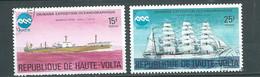 Haute Volta   Lot 2 Timbres Oblitérés , Année 1975 -   Au 9903 - Haute-Volta (1958-1984)