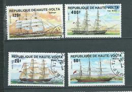 Haute Volta   Lot 4 Timbres Oblitérés , Année 1984 -   Au 9902 - Haute-Volta (1958-1984)