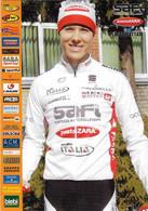 CARTE CICLISME VILIJA SEREIKAITE TEAM SAFI 2010 - Wielrennen