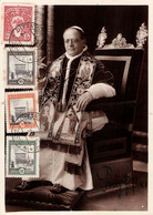 VATIKAN - PICTURE POSTCARD 1937 With STAMPS 5ct - 2,75 LIRE /GR86 - Cartas