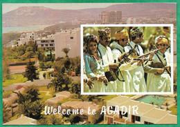 Agadir Et Ses Musiciens 2scans 25-07-1994 Piscine - Agadir