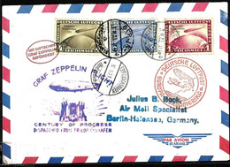 938 - GERMANY - 1933 - ZEPPELIN - COVER -   FORGERY, FALSE, FAUX, FAKE, FALSO - Zonder Classificatie