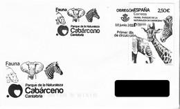 SPAIN. FDC. CABARCENO NATURE PARK. 2021 - FDC