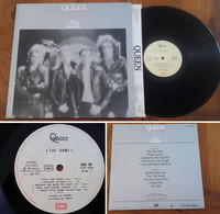 """RARE French LP 33t RPM (12"""") QUEEN """"The Game"""" (1980) - Rock"""