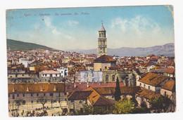Split, Spalato, Panorama, Glockenturm St. Peter, Sa Zvonika Sv. Petra, - Kroatien