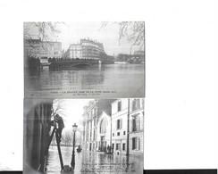 LOT 20 CARTES INONDATIONS  1910 - 5 - 99 Postales