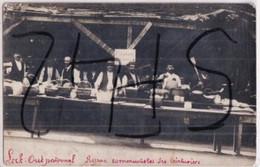 TARARE               CARTE PHOTO    REPAS COMMUNISTES DES TEINTURIERS      LOCK OUT PATRONAL - Tarare