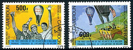 Cameroun Cameroon 1979 Balloon Atlantic Crossing Dougle Eagle III  (YT PA 299,  St Gibbons 871) - Andere (Lucht)