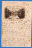 Allemagne Reich 1900 Carte Postale Frankfurt -  Gruss Aus Dem Zoologischen Garten (G3370) - Covers & Documents