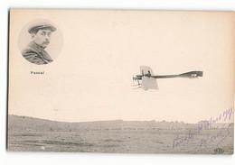 Très Rare PASCAL Aviateur CASTRES ? Et Son Monoplan ELD Aviateur Avion - Aviadores