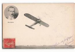 Très Rare George Stephen Morrison Aviateur AMERICAIN Et Son Monoplan ELD Aviateur Avion - Aviadores