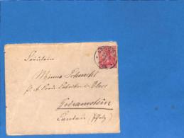 Allemagne Reich 1901 Lettre De Londorf (G3371) - Covers & Documents