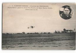 Rare Grand Prix MICHELIN Départ De Eugène RENAUX GAGNANT Sur Farman En 1911 ELD Aviateur Aviation Avion Paris - Aviadores